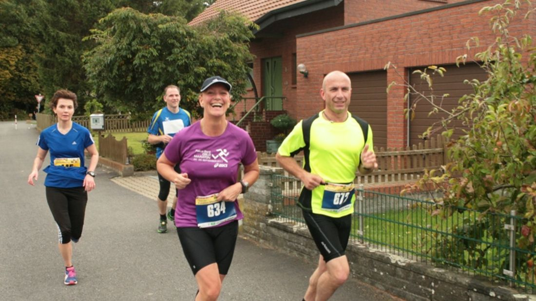 """""""5 am Tag"""" Familien-Marathon Welver Läufer"""