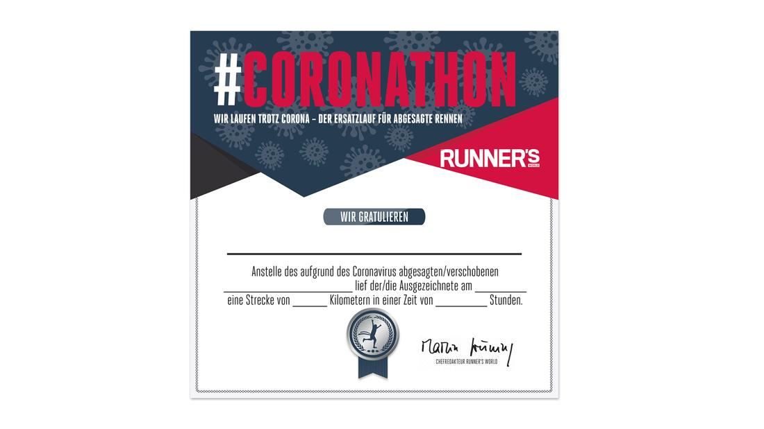 #Coronathon – der Ersatzlauf für abgesagte Rennen