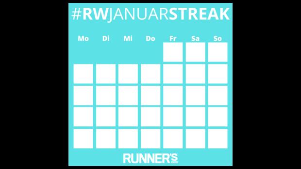 #RWJanuarStreak-Kalender