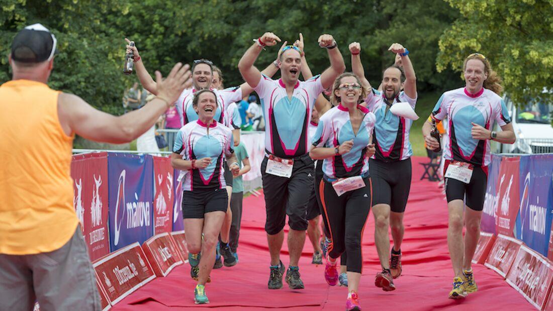 10 Freunde Triathlon 2017 Frankfurt