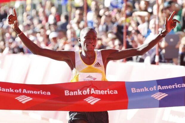 14102013 Chicago Marathon 2013 Dennis Kimetto