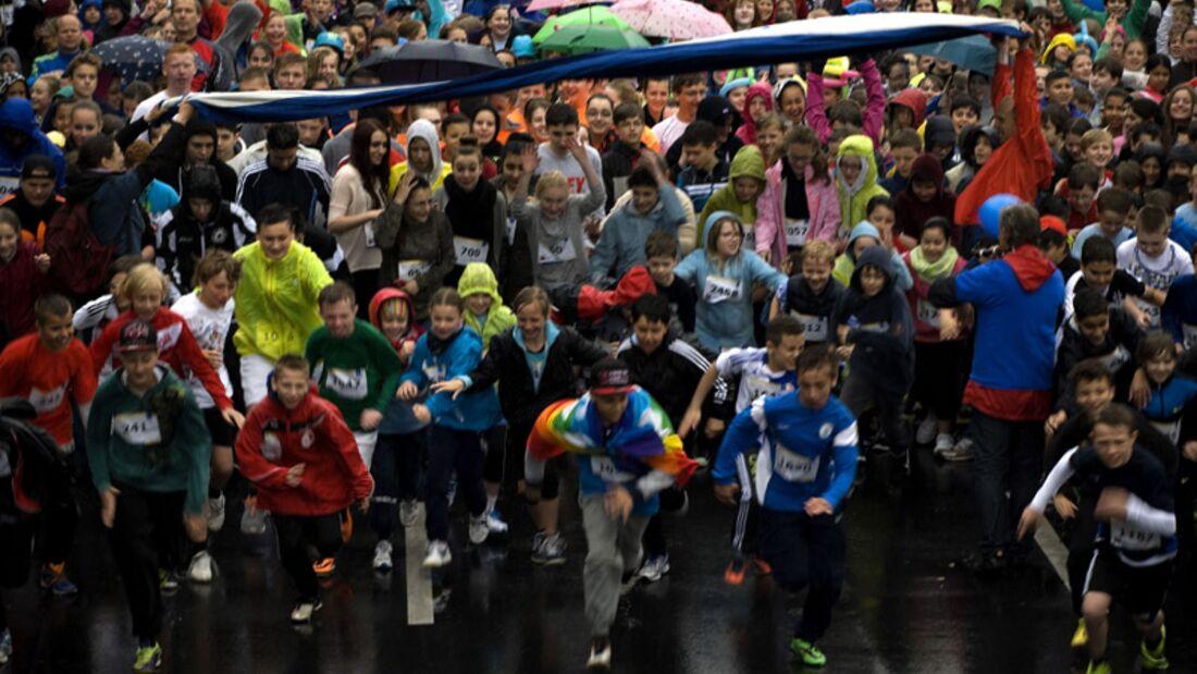 2.415 Berliner Schüler liefen für den Frieden