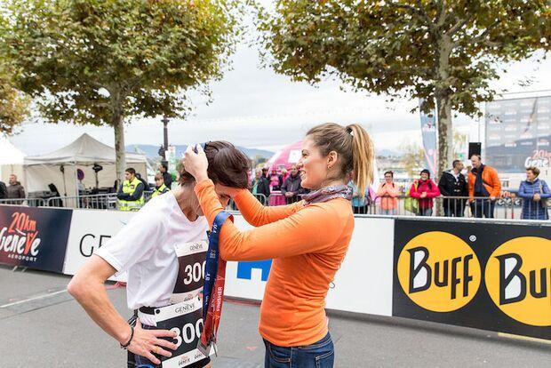 20km de Genève 2017 Medaille