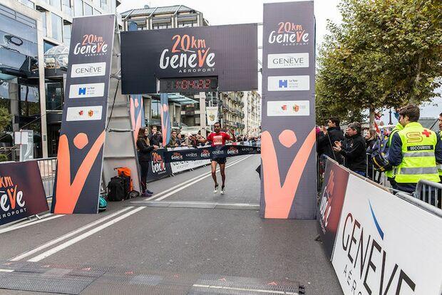 20km de Genève 2017 Ziel