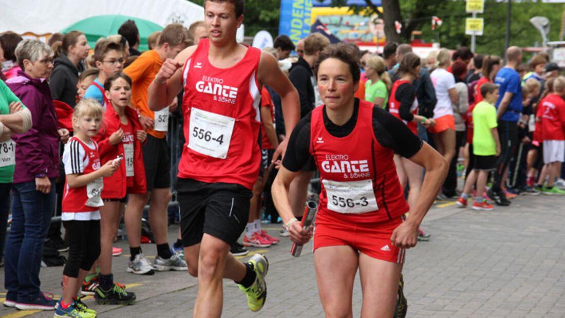 24-Stunden-Burginsellauf Delmenhorst: Staffelläufer