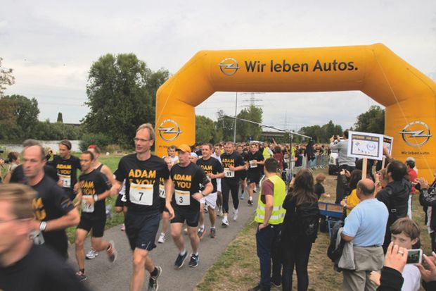 24042013 Firmenlauf Rüsselsheim
