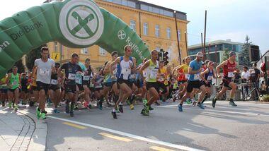 3/4 Halbmarathon Bruneck 2019