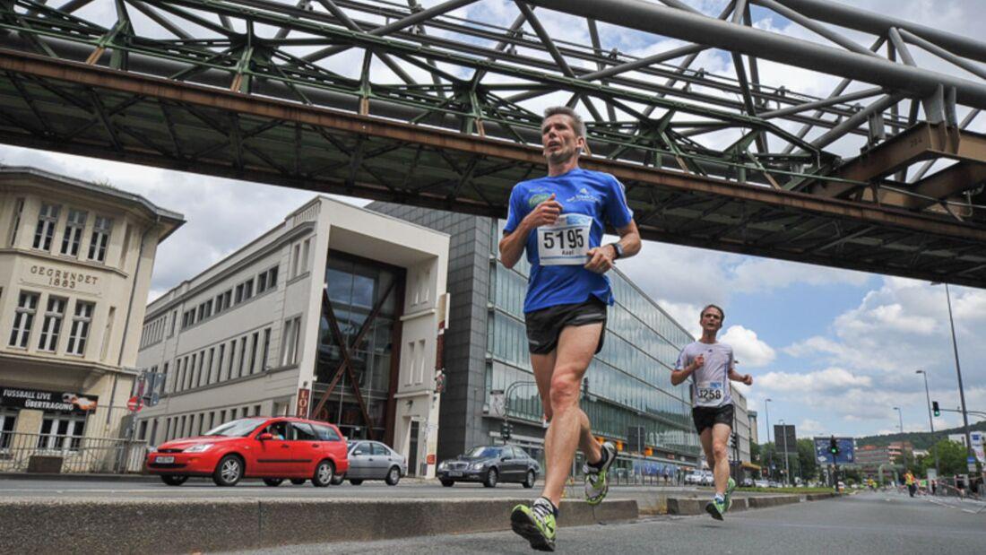 3. Schwebebahn-Lauf 2014 Läufer