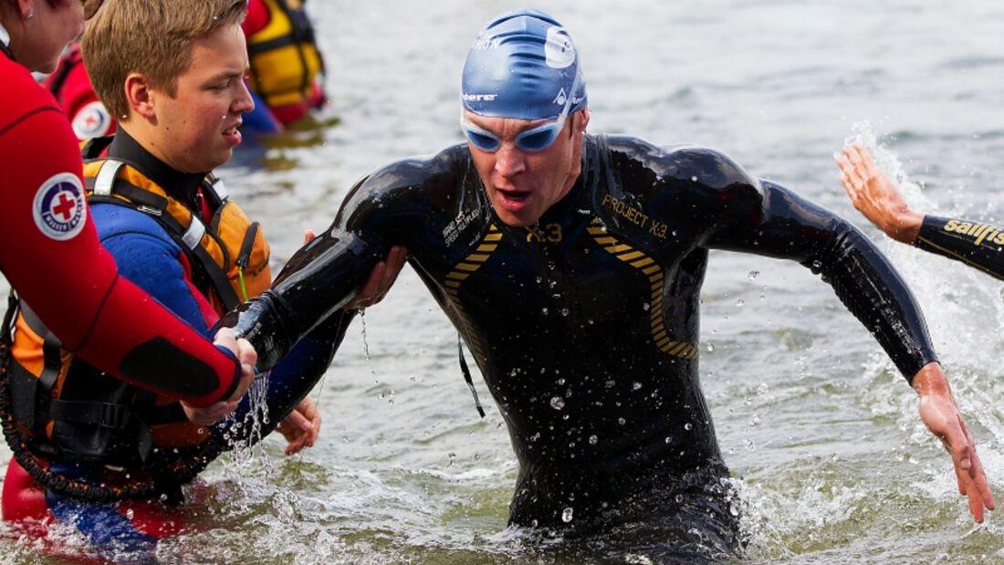 4. Chiemsee Triathlon 2015 Schwimmer