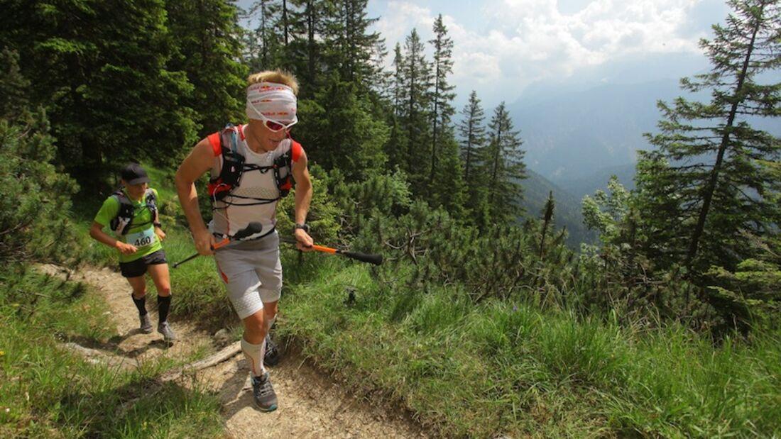 4 Trails Alpenüberquerung 2013
