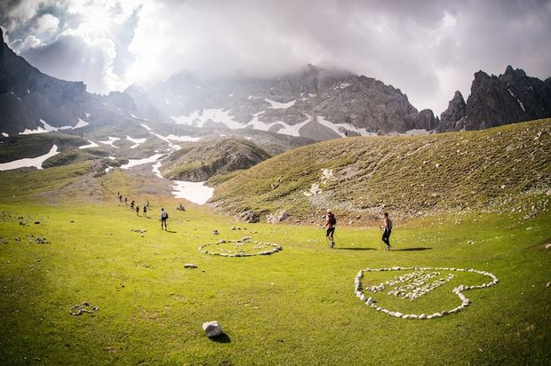 4 Trails Alpenüberquerung II 2013