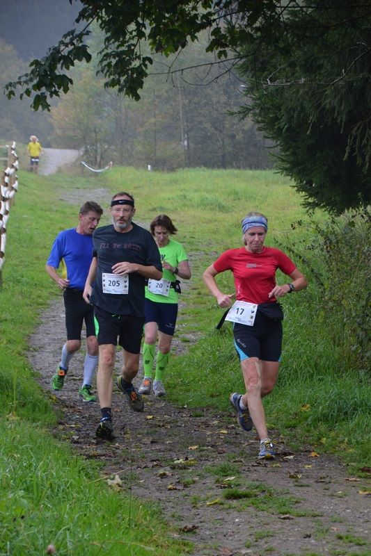 Abwechslungsreiche Strecke beim 10-Teiche-Marathon 2