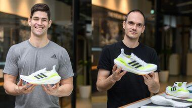 Adidas-Entwickler Stephan Schneider und Moritz Hoellmueller