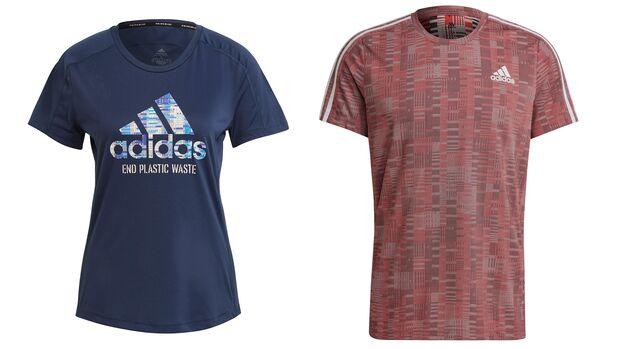 Adidas Primeblue-Laufshirts