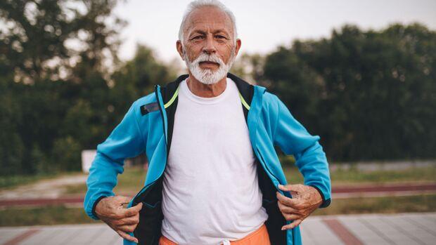 Älterer Läufer