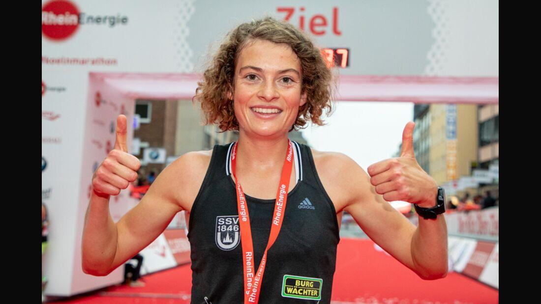 Alina Reh beim Köln-Marathon 2018