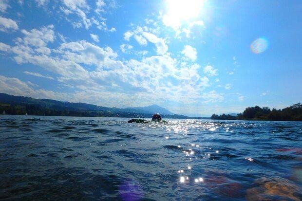 Allgäu SwimRun: Zauberhafte Seenlandschaft in Oy-Mittelberg
