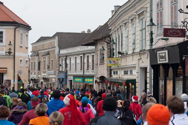 Altstadtadventlauf: Laufen in der Mödlinger Innenstadt