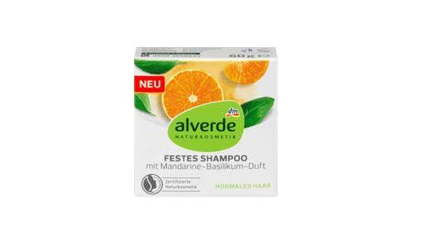Alverde Festes Shampoo