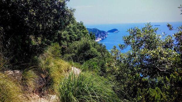 Alvi Trail Liguria  2019 Landschaft