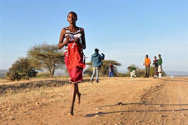 Amazing Maasai Ultra Marathon Laikipia Barfuß