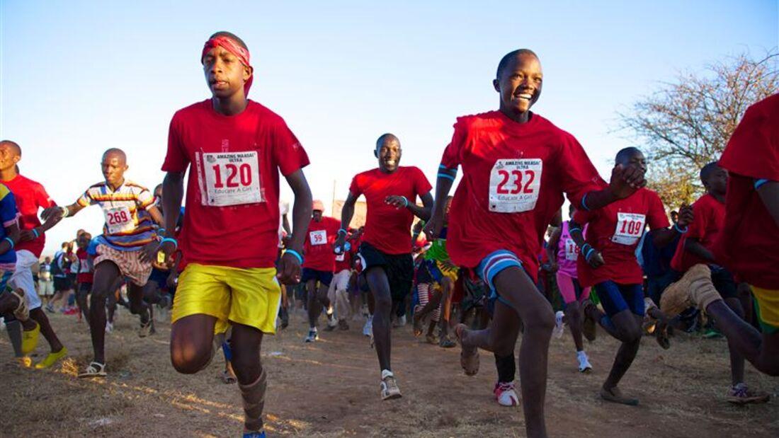 Amazing Maasai Ultra Marathon Laikipia Jung und Alt