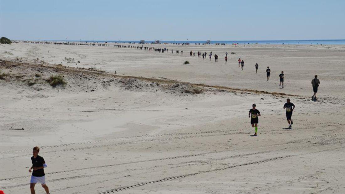 Amrumer Mukolauf Nebel: Am Strand - die kleine Runde