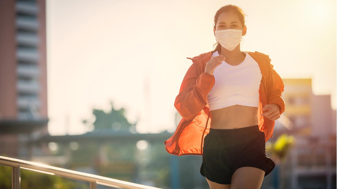 Ansteckungsgefahr beim Laufen