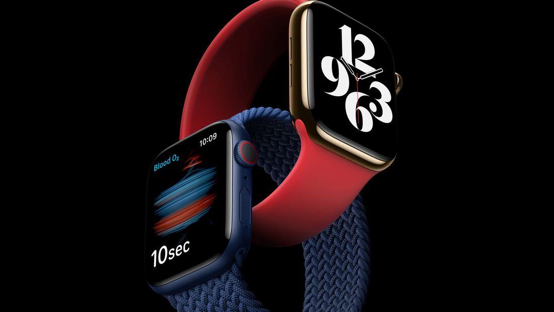 Apple hat die neue Apple Watch Series 6 vorgestellt