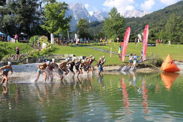 Aquarun Kuchl 2018 Schwimmen