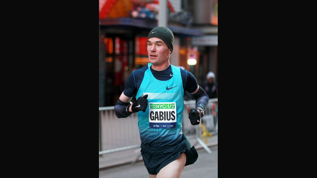 Arne Gabius in New York
