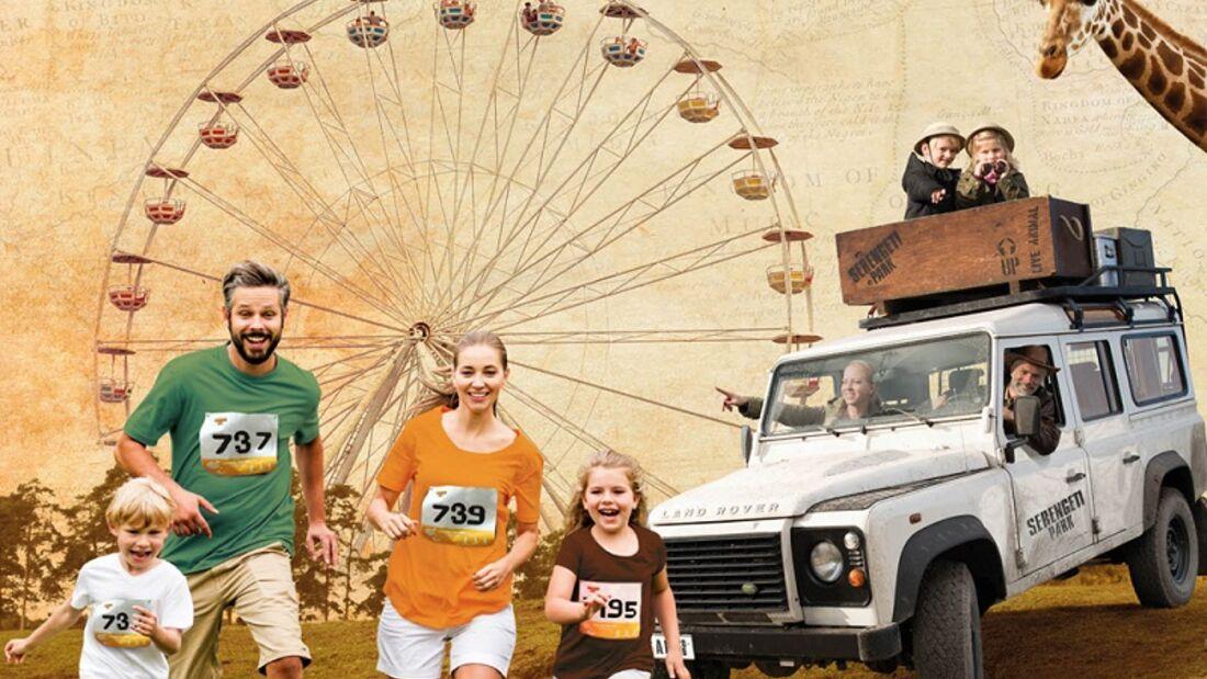 Auf zum Serengeti Run in Hodenhagen!