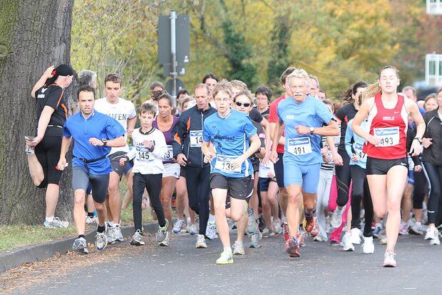 Bad Godesberger Herbstlauf Bonn Start