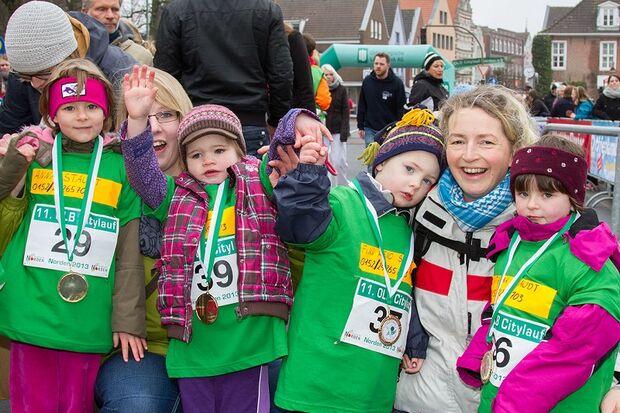 Bambini beim Norder Citylauf