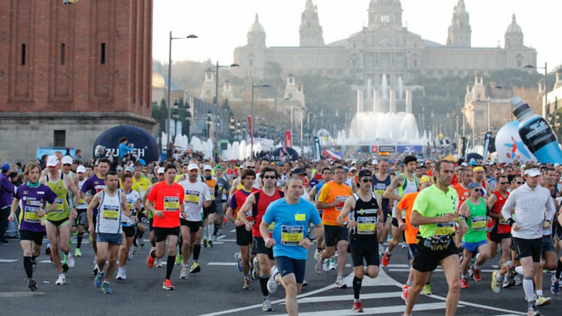 Barcelona Marathon 2012