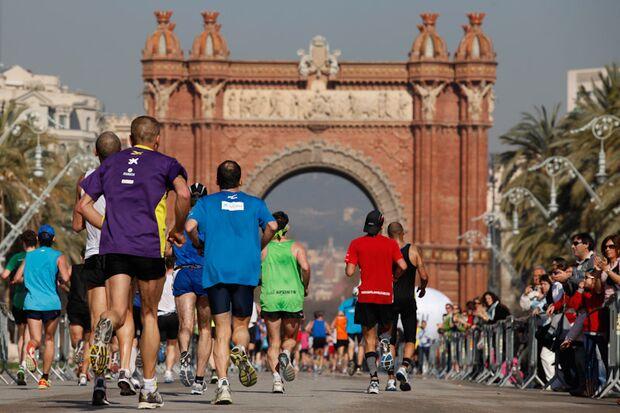 Barcelona-Marathon 2012
