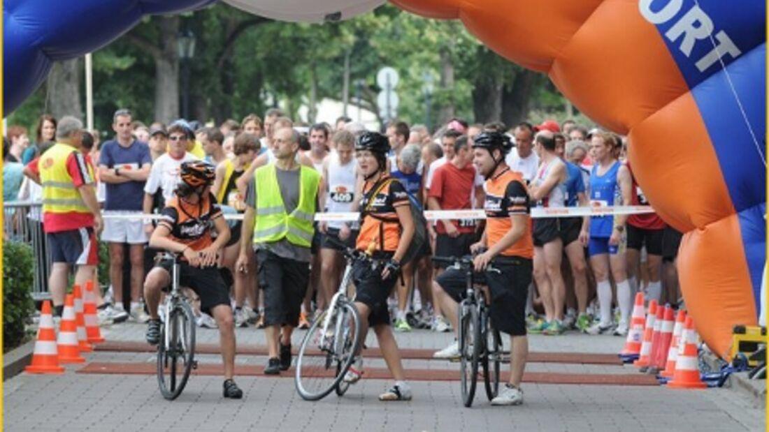 Basler Bruggelauf Start