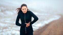 Bauchschmerzen beim Laufen