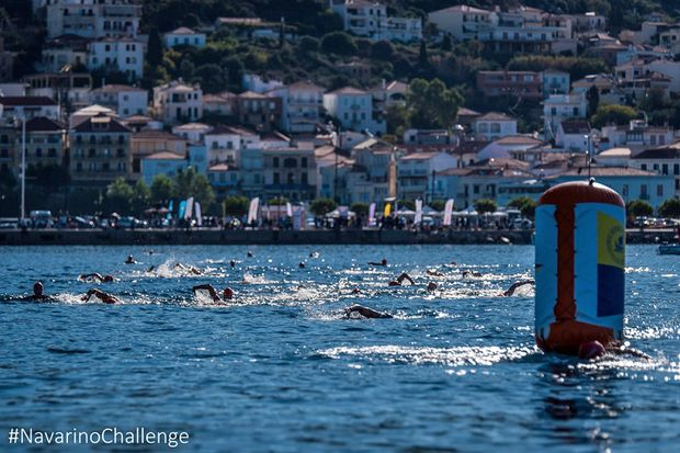 Bei der Navarino Challenge stehen neben Laufen über 10 weitere Sportarten auf dem Programm.