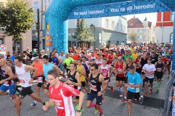 Beim Stadtlauf Erding werden die Bayerischen Meisterschaften im 10-km-Straßenlauf ausgetragen.