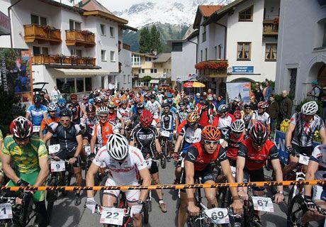 Bergkastel-Uphill Bike & Run Nauders
