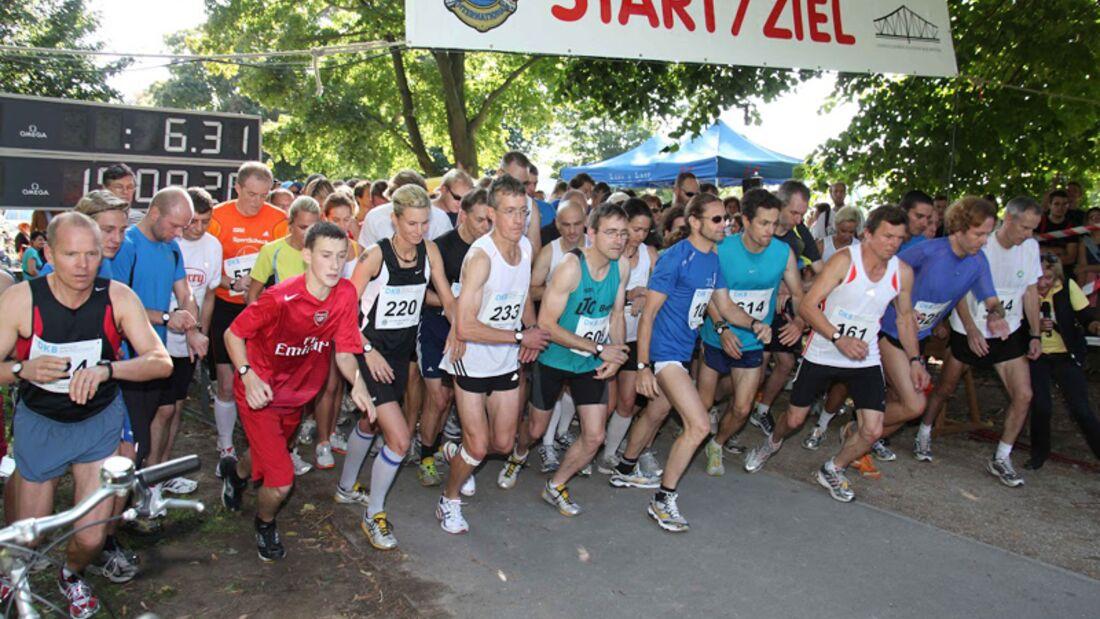 Berliner Benefiz-Lions-Lauf: Start des 10-km-Laufs