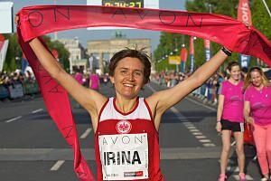 Berliner Frauenlauf Siegerin 2013