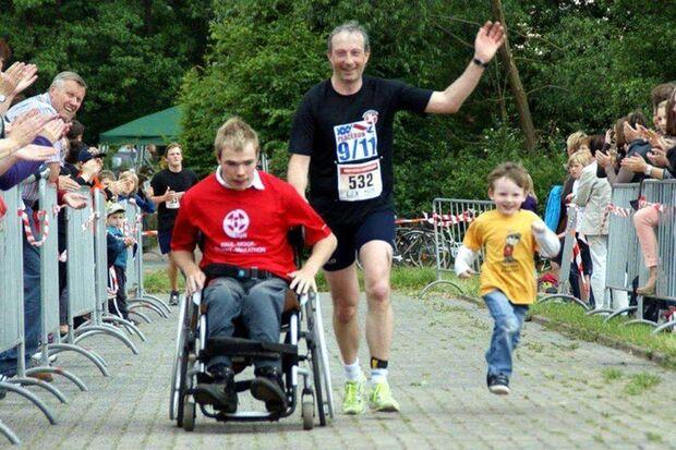 Bernd Buchwald, Initiator der Laufplattform  www.laufen-os.de, leistete einen tollen Beitrag zur Inklusion