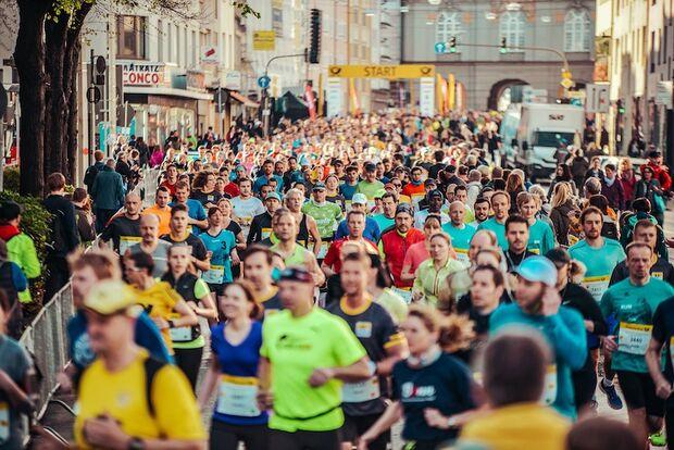 Bonn-Marathon 2018 Läuferfeld