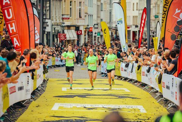 Bonn-Marathon 2018 Zieleinlauf