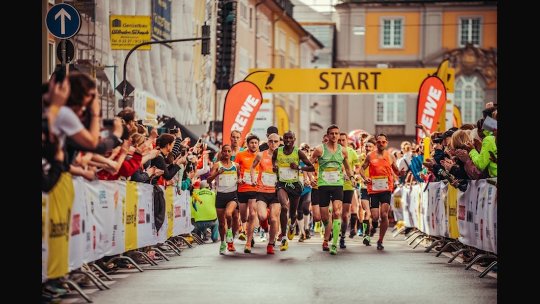 Bonn-Marathon Start 2018