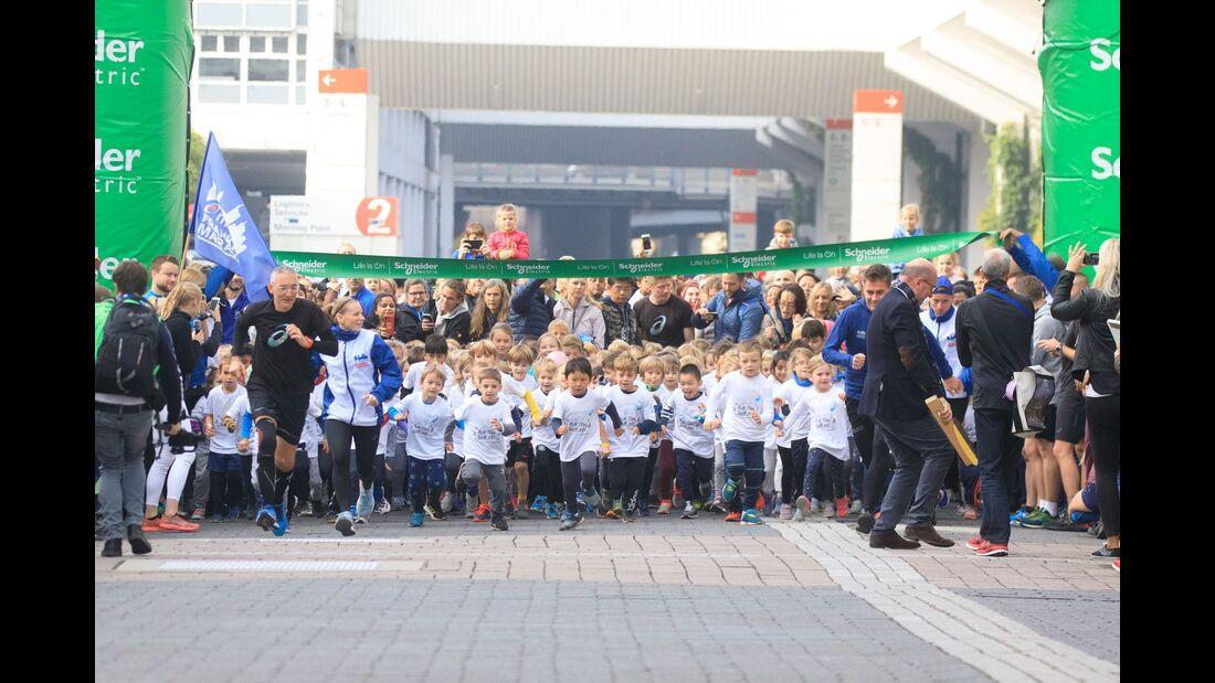 Brezel- und Struwwelpeterlauf beim Frankfurt-Marathon 2019