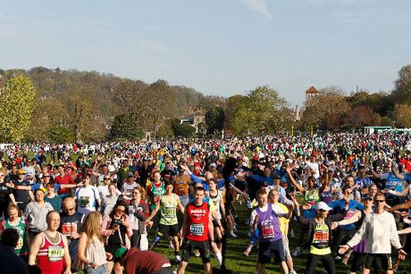 Brighton Marathon 1