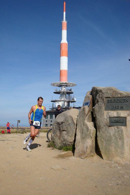 Brockenlauf Ilsenburg Gipfel